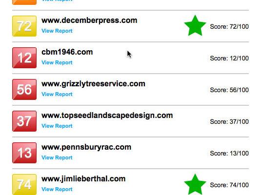 Freegrader.com SEO site image