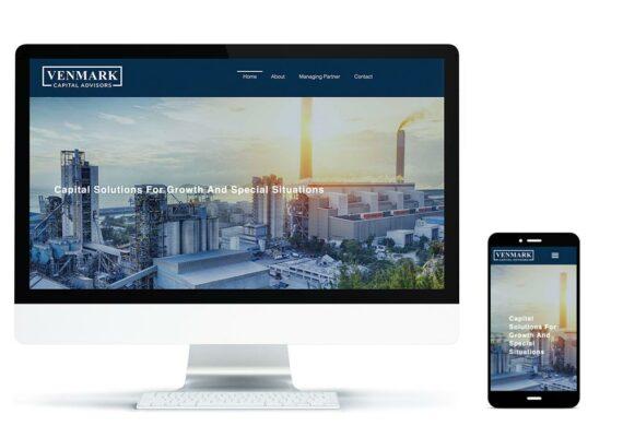 Venmark Capital Advisors Website Screenshots