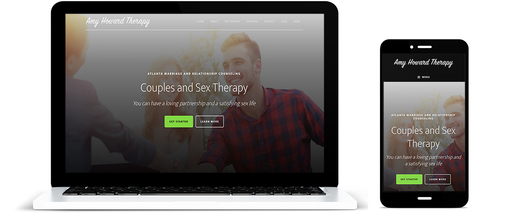 Amy Howard Therapy Website